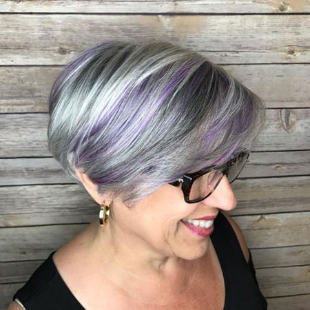 Gray Pixie Bob Hair