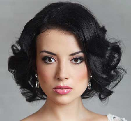 Short Hairstyles for Weddings 2014_5