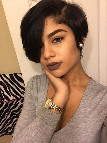 Cute Short Hairstyles On Black Woman