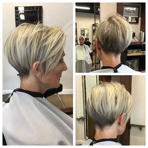 Best Short Haircuts for Older Women-15