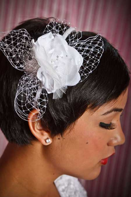 20 Short Hairstyles for Brides_13