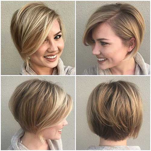 Short Hairstyles for Thick Straight Hair-15