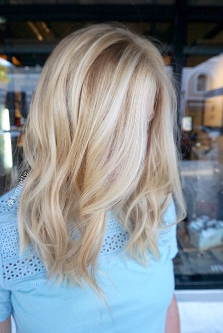 Blonde Hair Bob Color