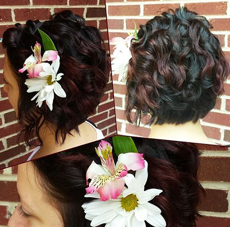 Wedding Color World Updo