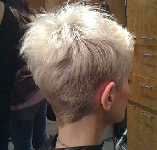 Back View Pixie Haircuts 2018