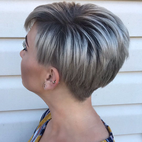 Shadow Root Pixie Cut