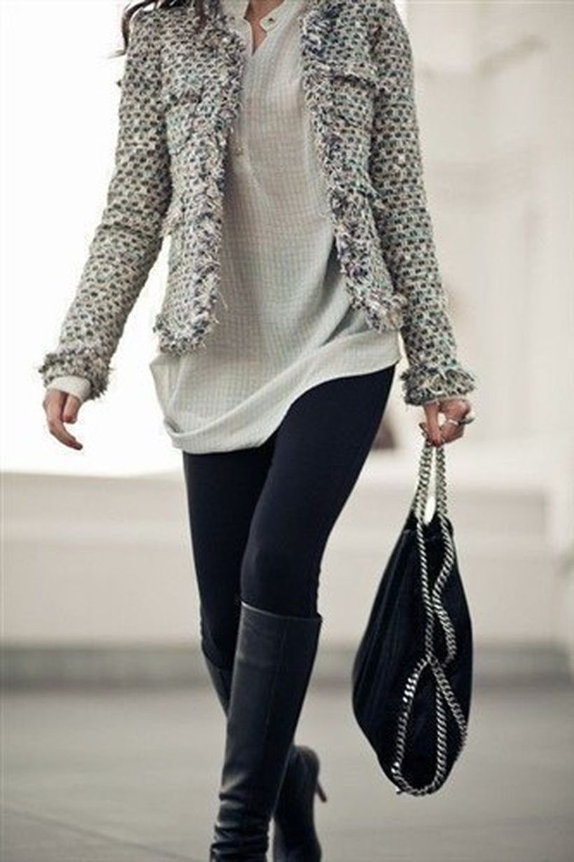 Black-leather-knee-high-boot-and-black-legging
