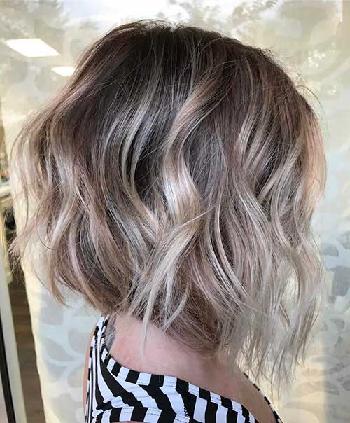 Short Messy Bob Haircut