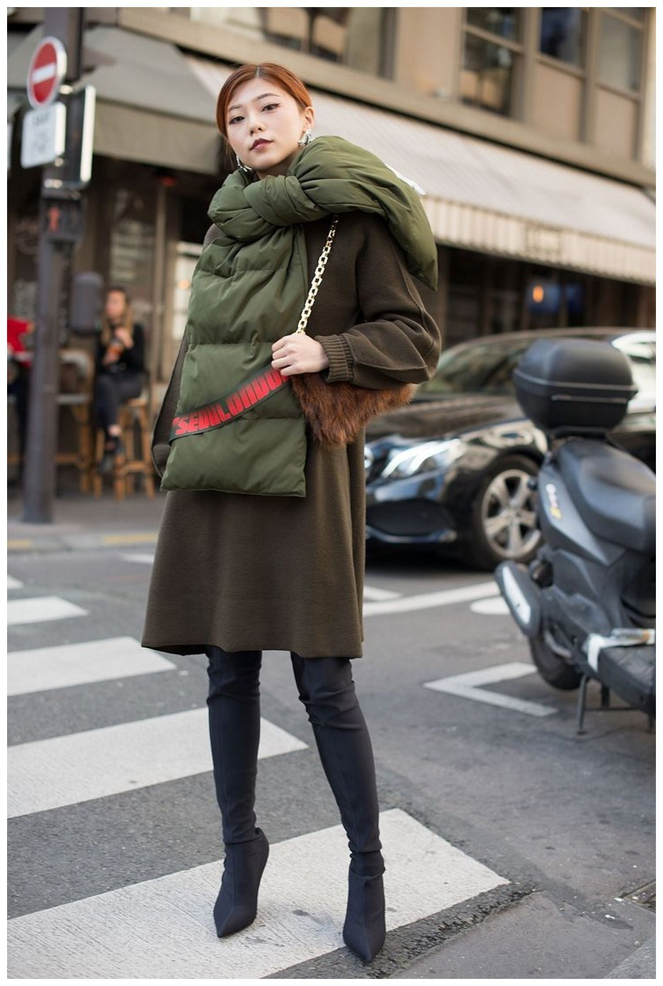 40+ ways to wear thigh high boots this winter 24