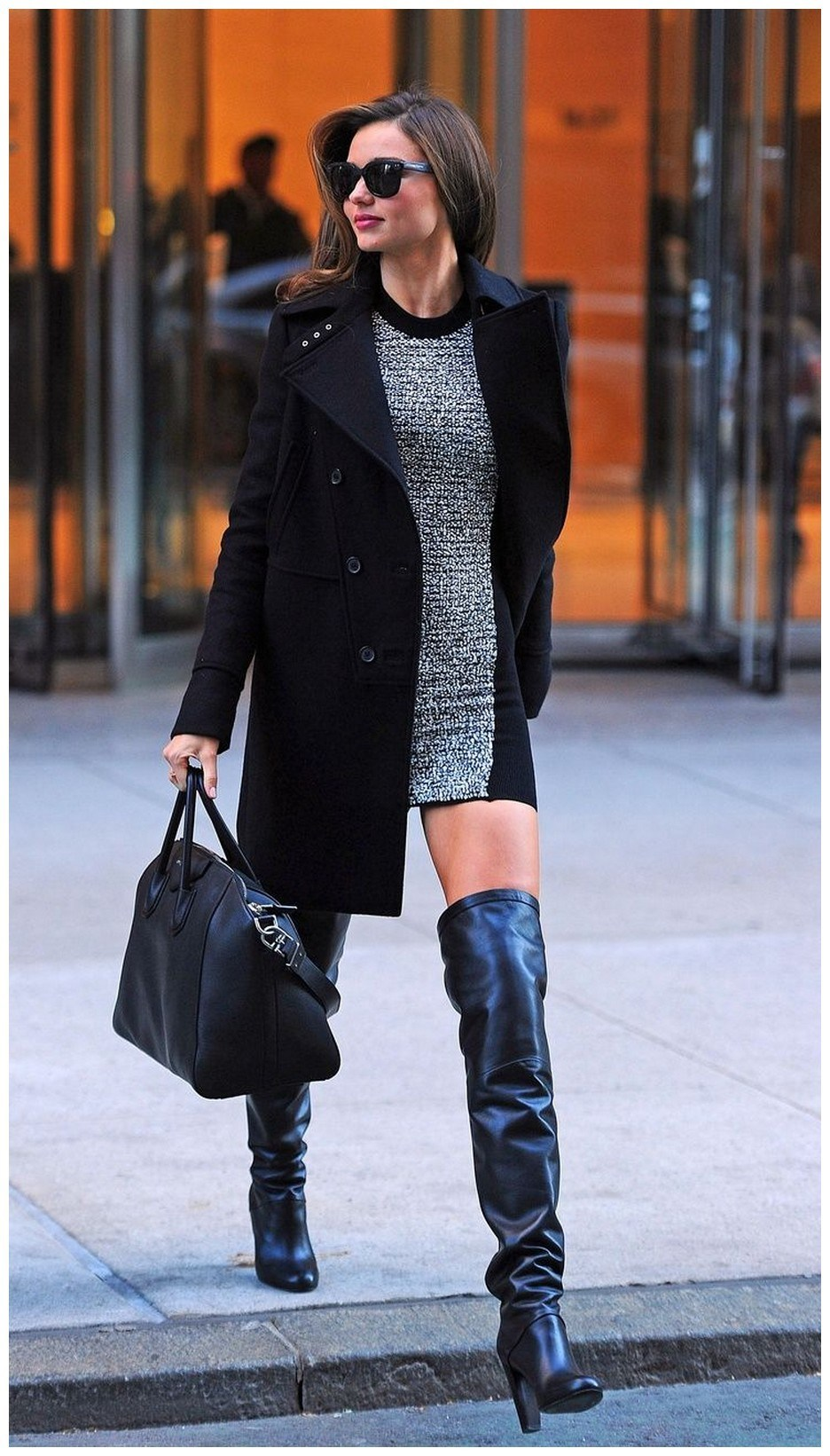40+ ways to wear thigh high boots this winter 17