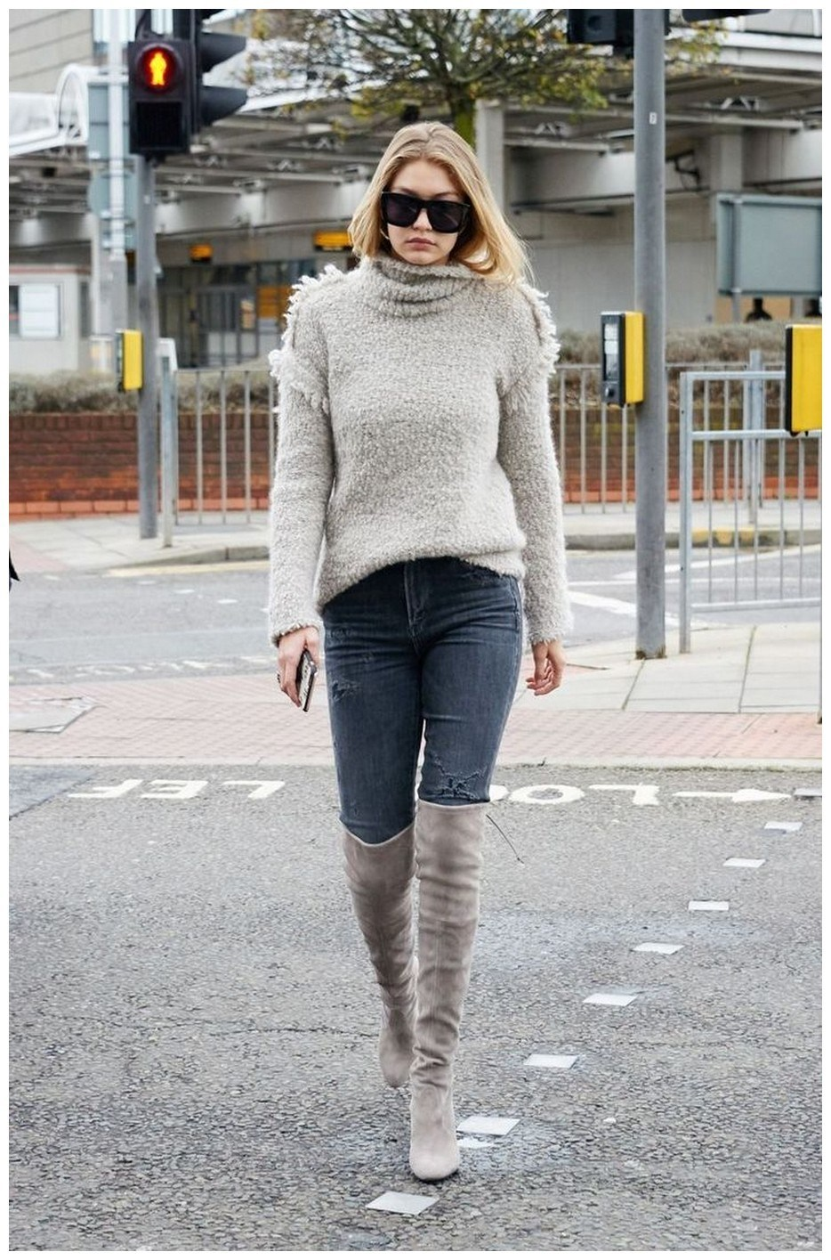 40+ ways to wear thigh high boots this winter 10