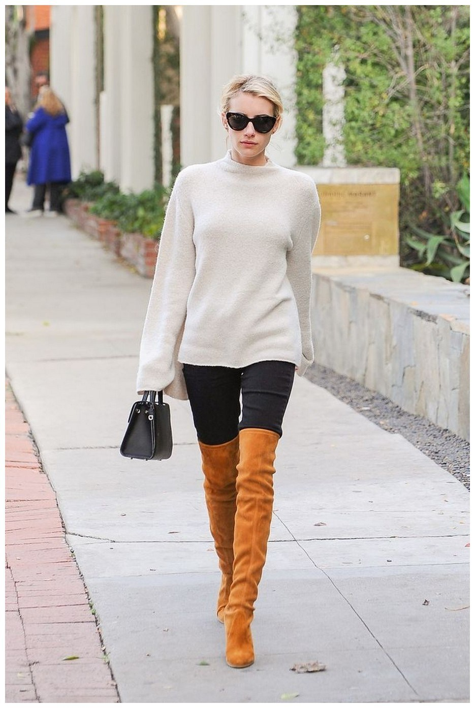 40+ ways to wear thigh high boots this winter 25