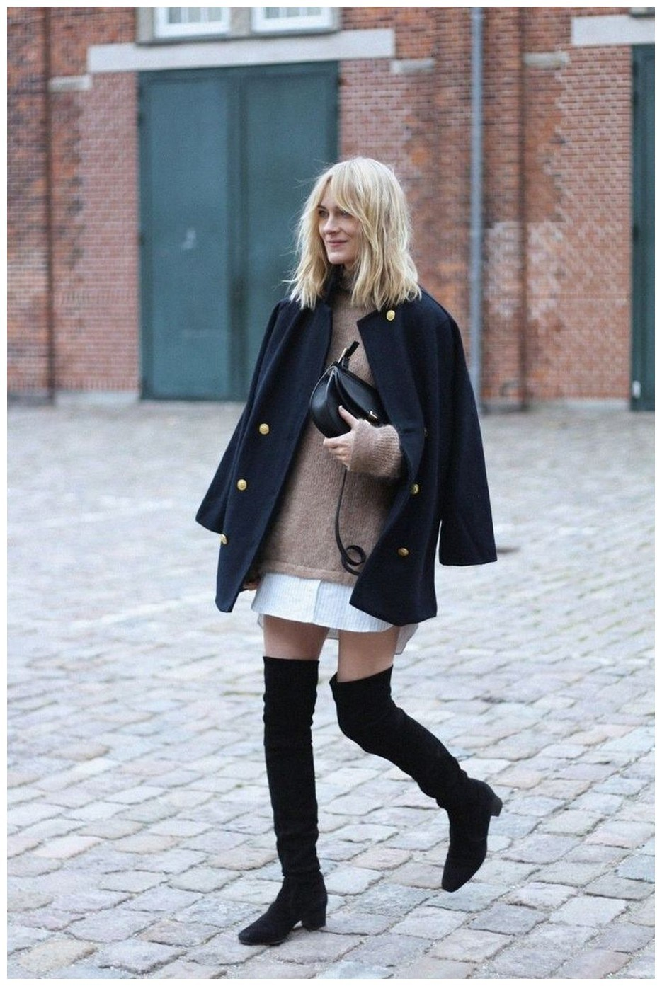 40+ ways to wear thigh high boots this winter 14