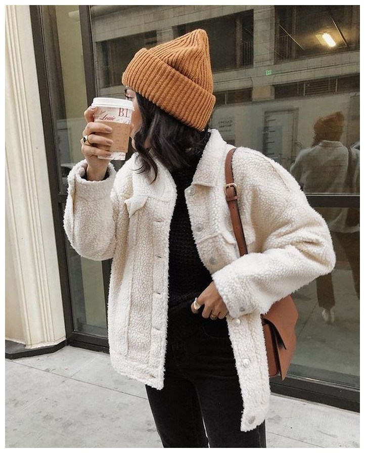 50+ cozy outfit idea you need to wear in winter 39