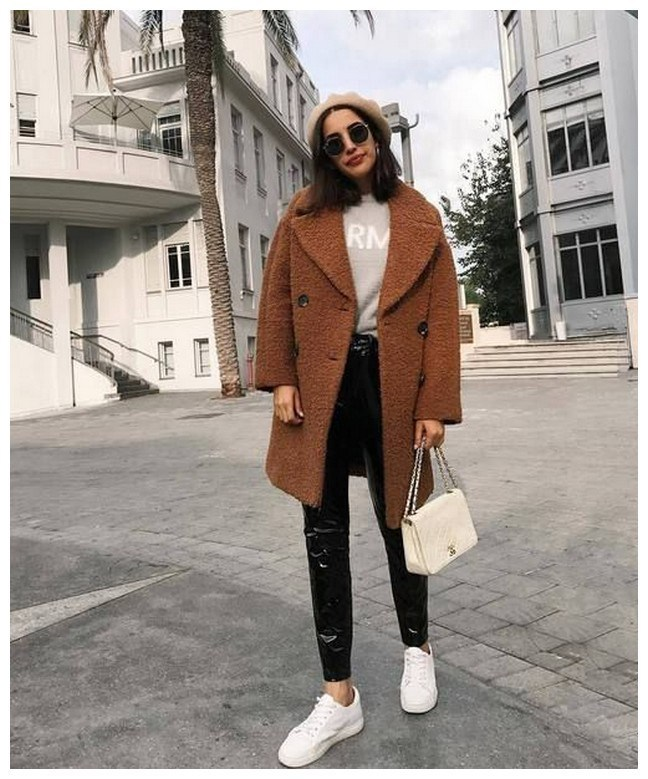 50+ cozy outfit idea you need to wear in winter 27