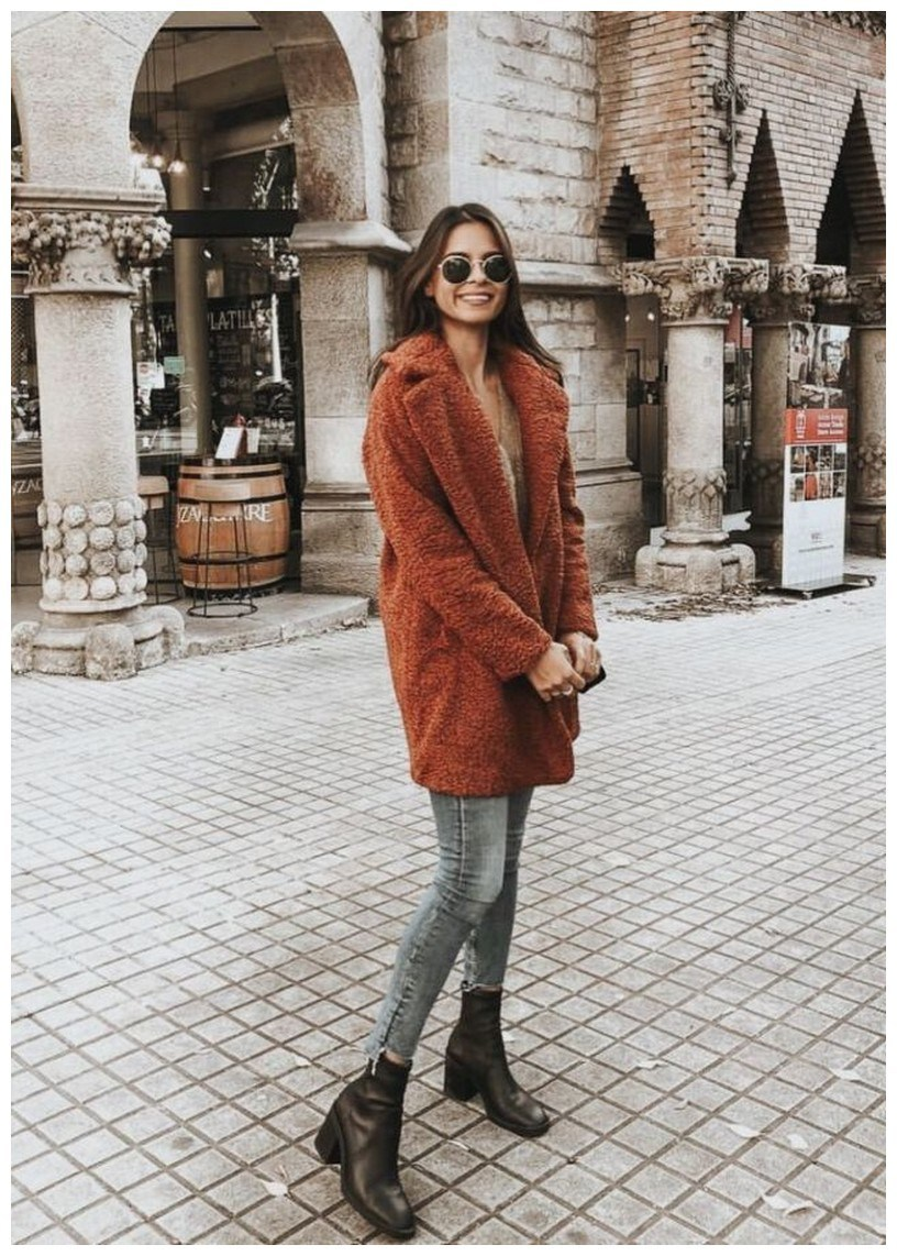 50+ cozy outfit idea you need to wear in winter 10