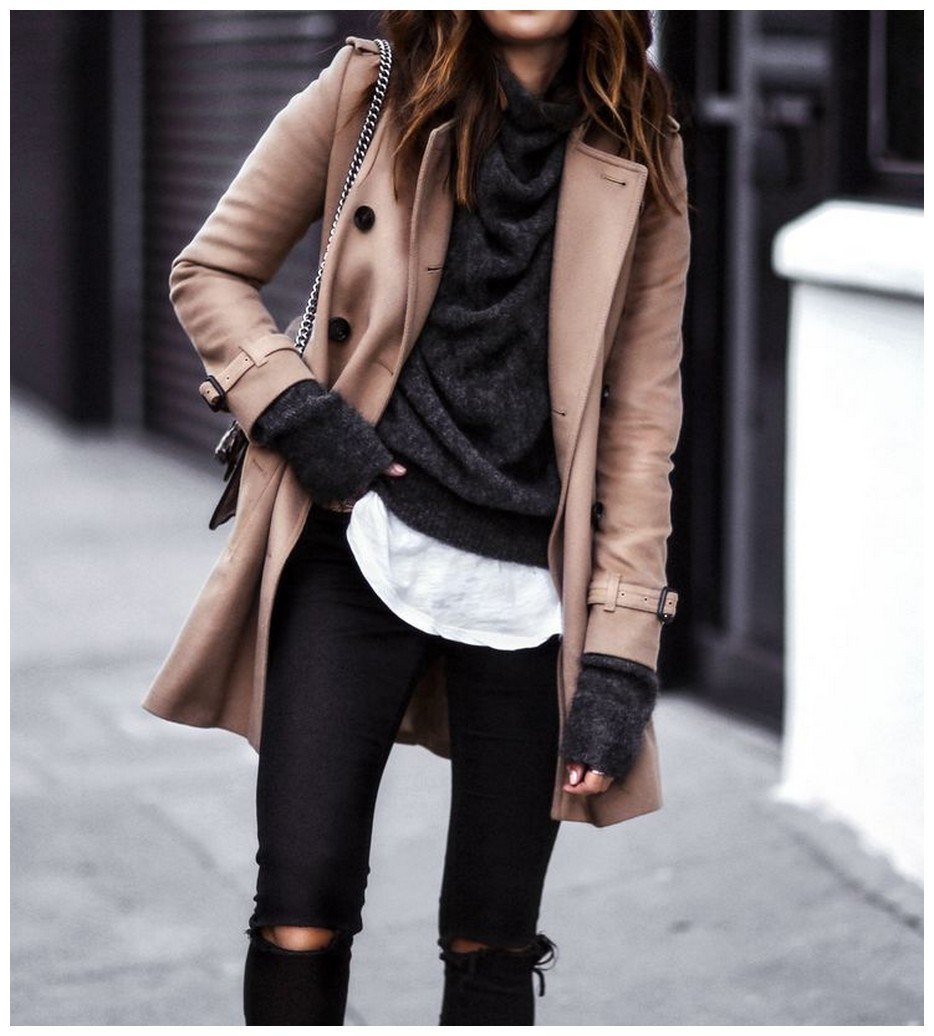 60+ comfy winter brunch outfits for girls 52