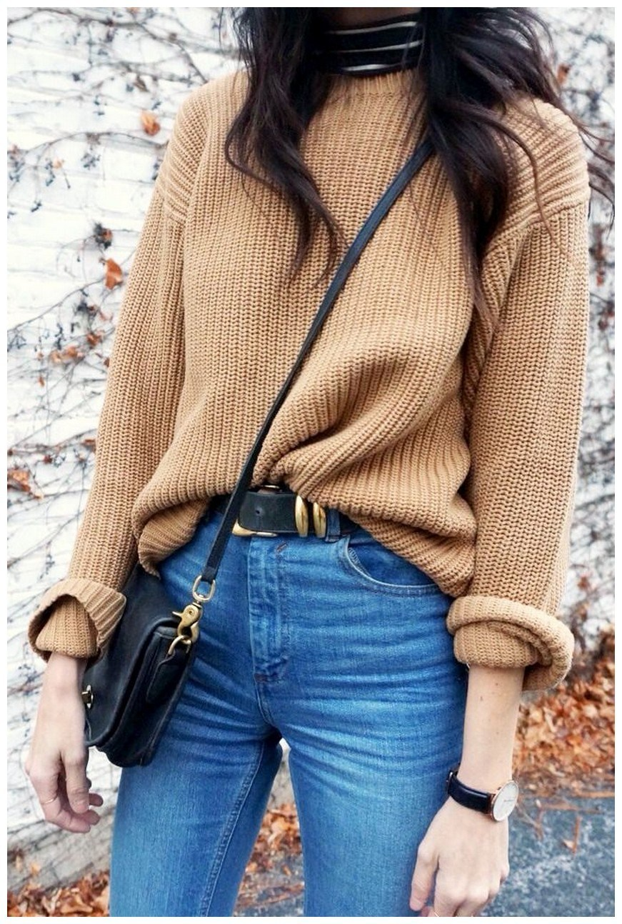 60+ comfy winter brunch outfits for girls 15