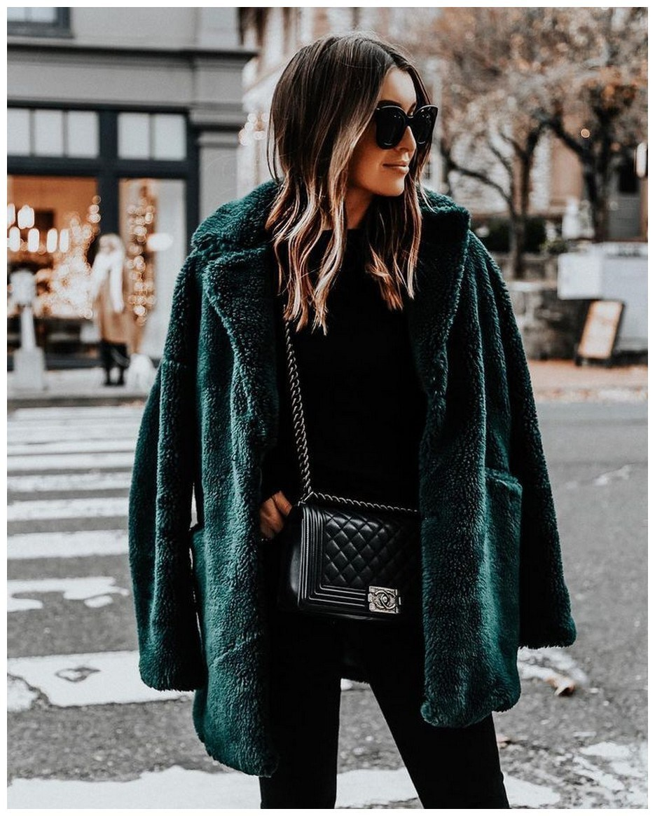 50+ pretty winter outfits you can wear on repeat 47