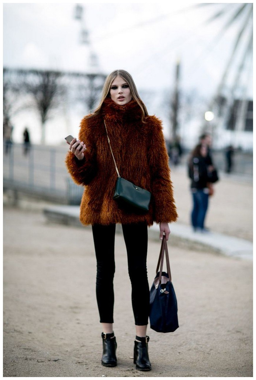 50+ pretty winter outfits you can wear on repeat 7