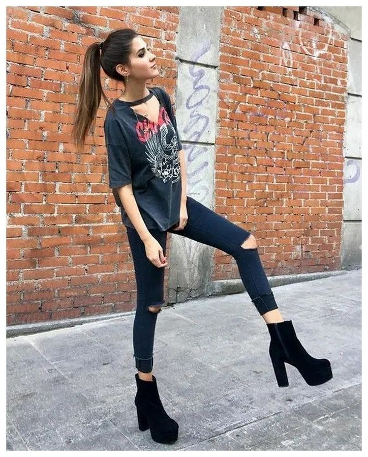 34+ rocker chic winter outfits you will love fashionplace info 28