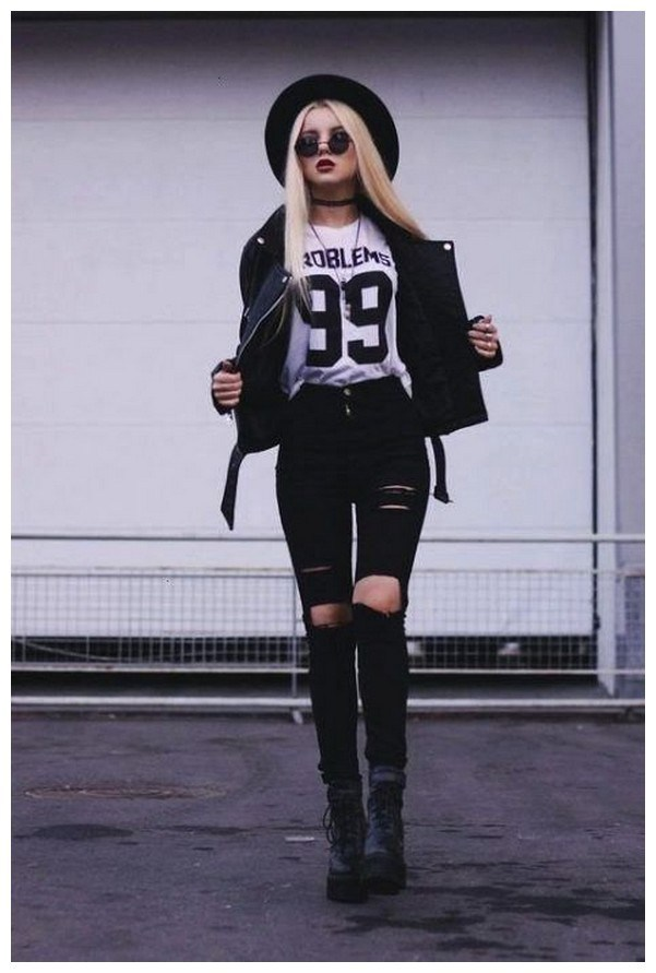 34+ rocker chic winter outfits you will love fashionplace info 34