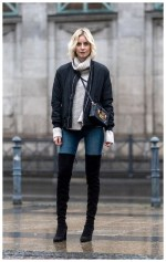40+ Ways To Wear Thigh High Boots This Winter