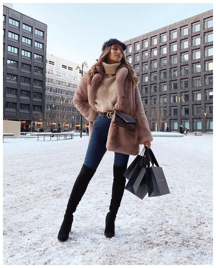 50+ cozy outfit idea you need to wear in winter 31