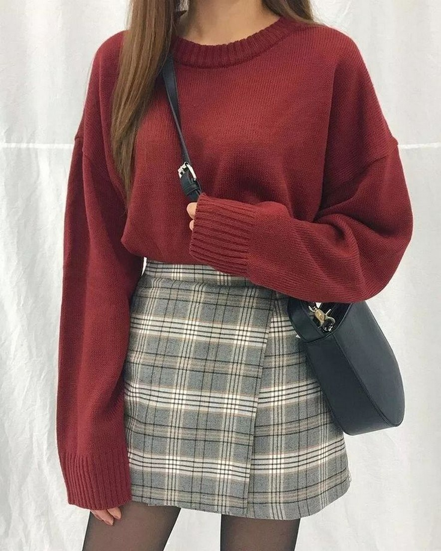 31+ cute casual winter fashion outfits for teen girl 11