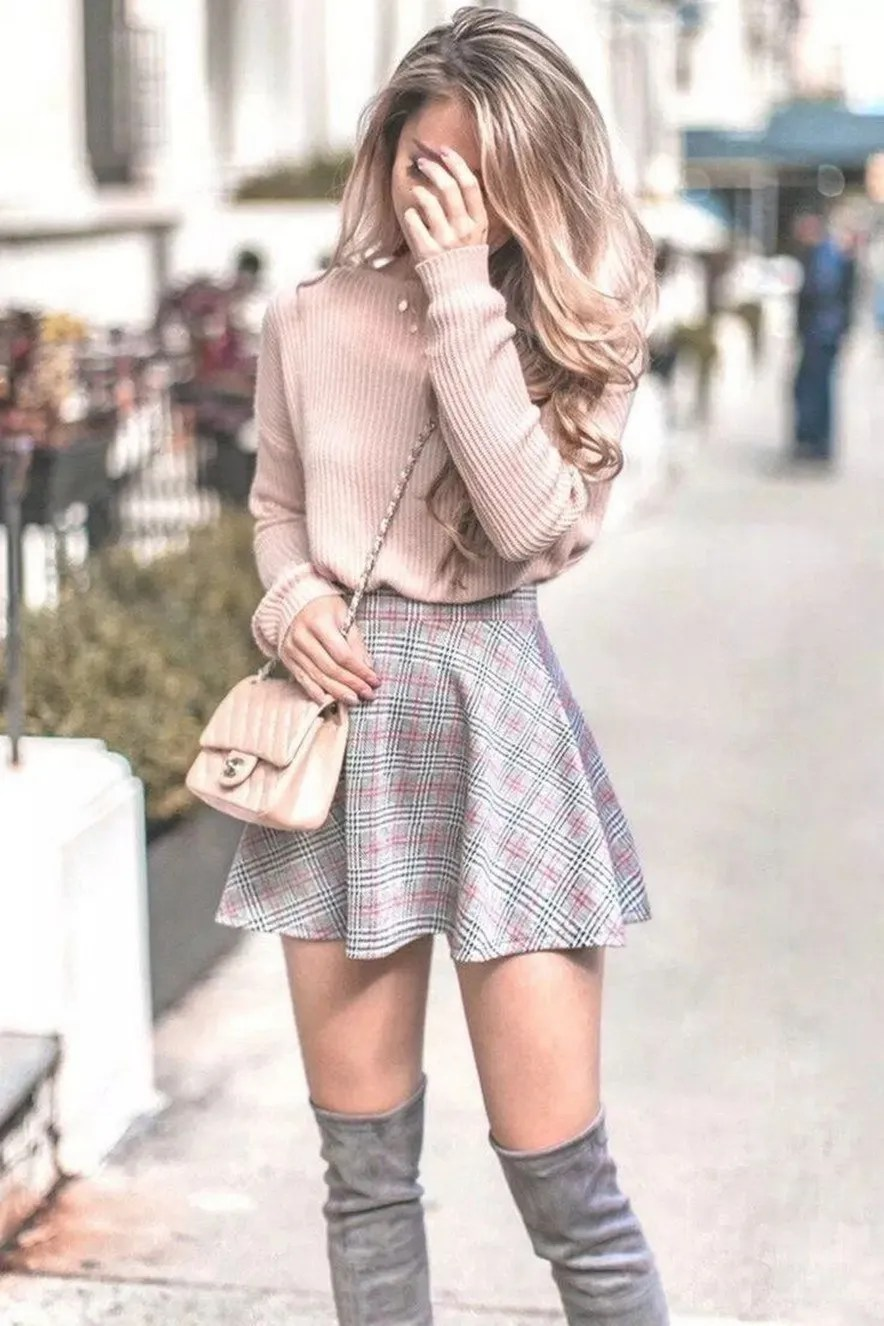 31+ cute casual winter fashion outfits for teen girl 3