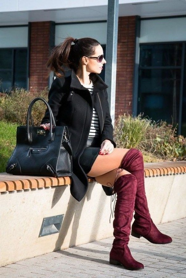 41+ combination for boots and coats this winter 11