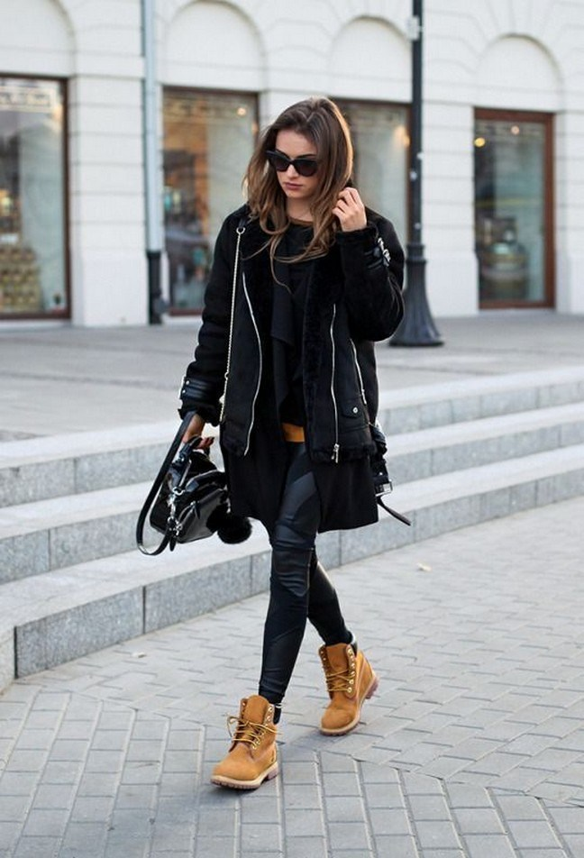 41+ combination for boots and coats this winter 40