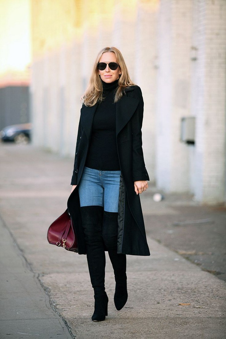 41+ combination for boots and coats this winter 42