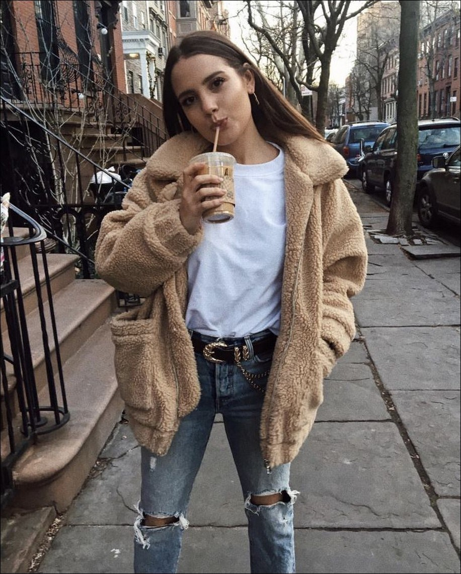 45+ amazing winter outfits for school you will love 6
