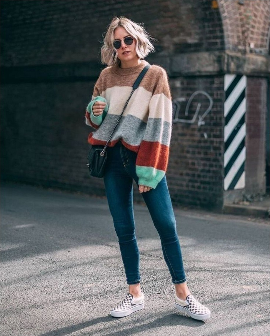 45+ amazing winter outfits for school you will love 20