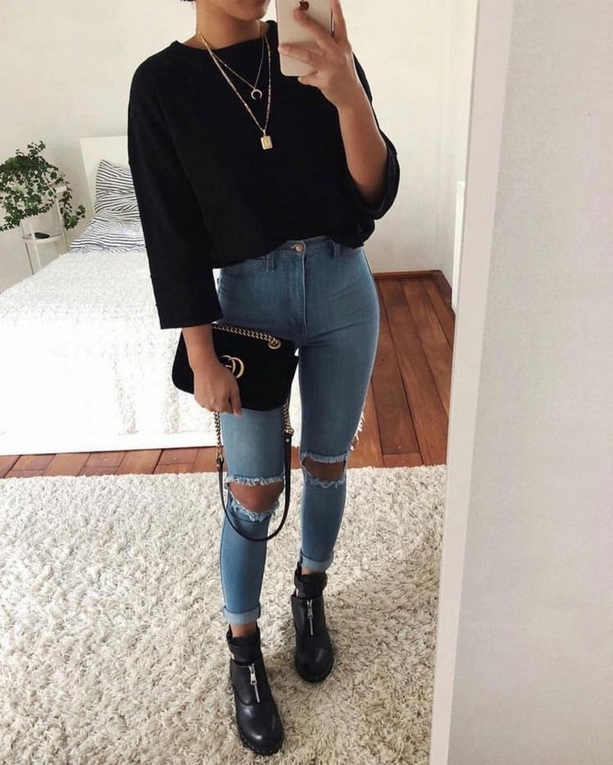 29+ basic outfit ideas every women should know for winter 12