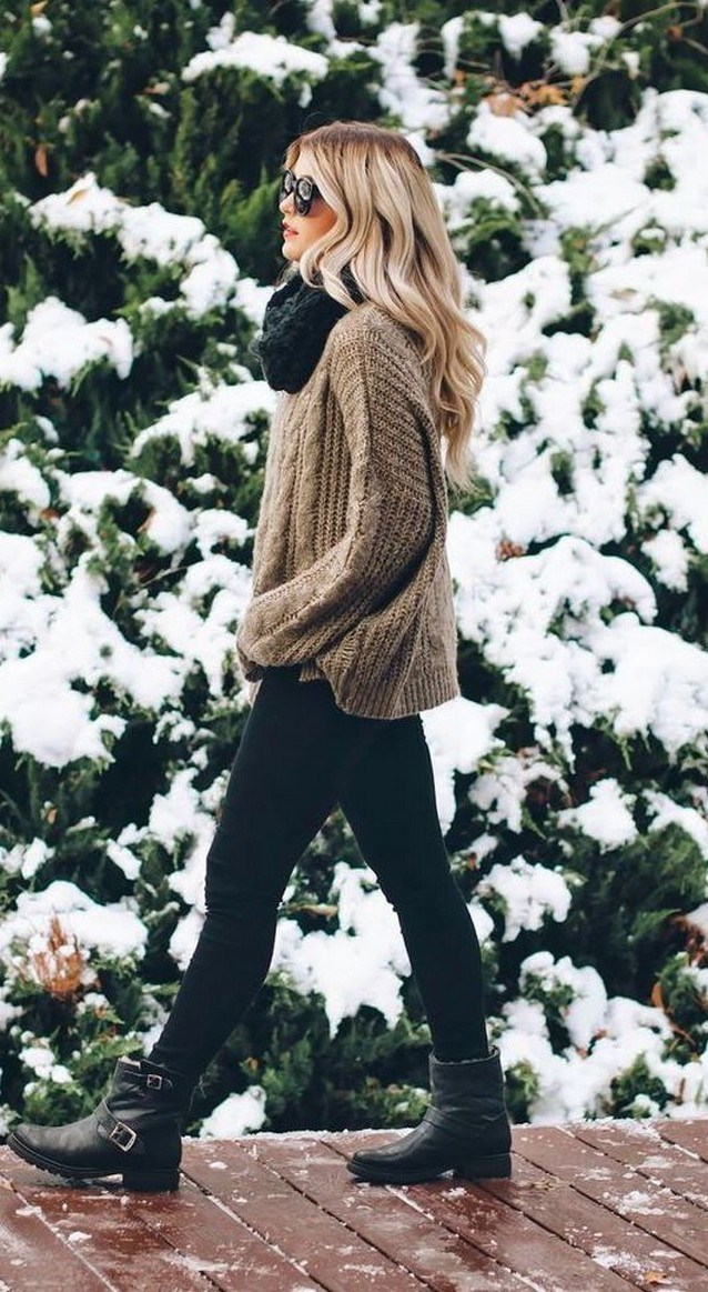 31+ trendy winter outfit ideas that women have to know 16