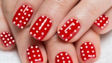 15 Poppy Red Nail Art Ideas to Copy to Your Amazing Winter