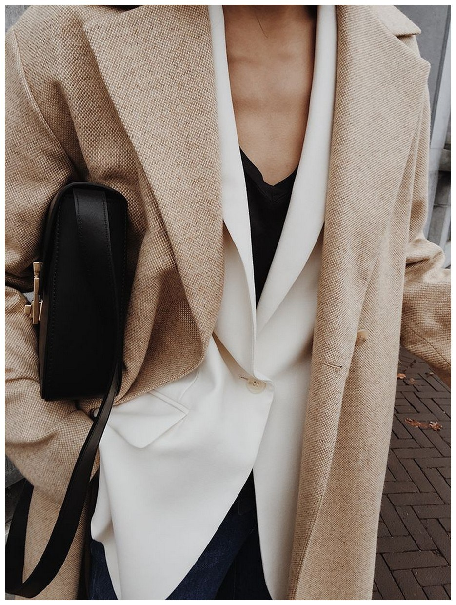 60+ minimalistic outfits for spring 27