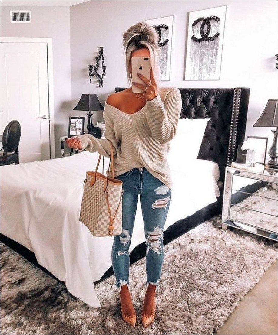 35+ stylish comfy casual spring outfits for women 36