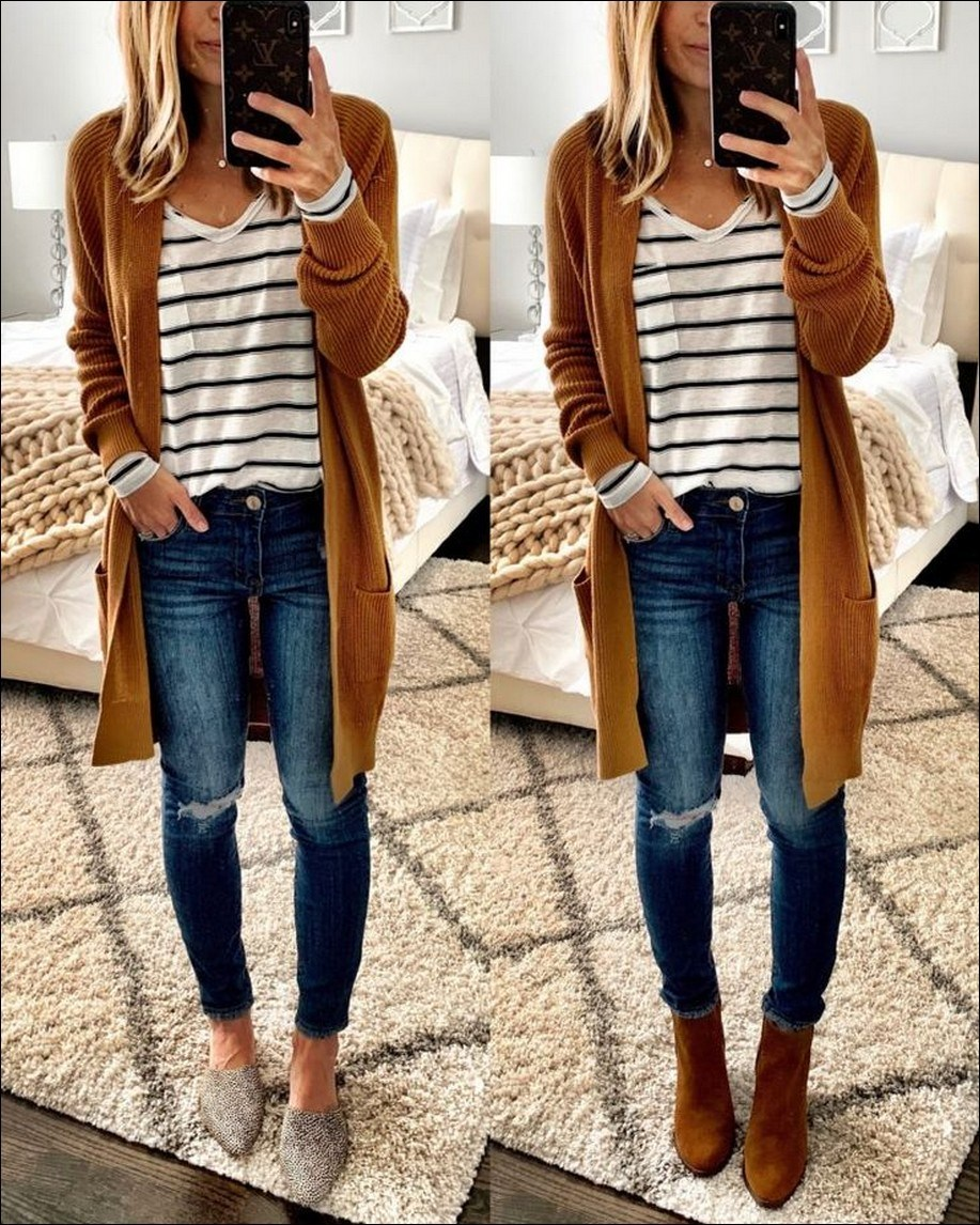 35+ stylish comfy casual spring outfits for women 25