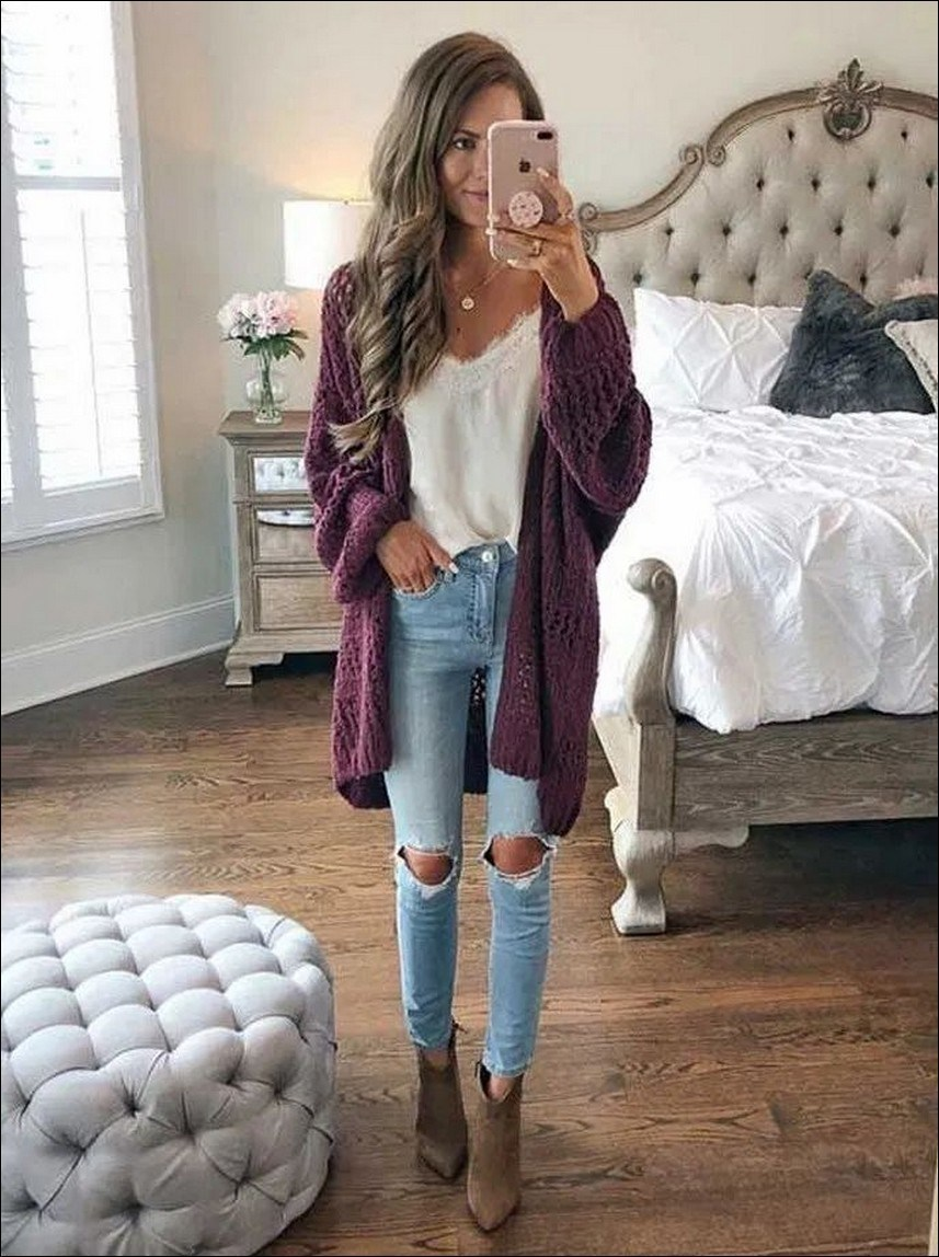 35+ stylish comfy casual spring outfits for women 8