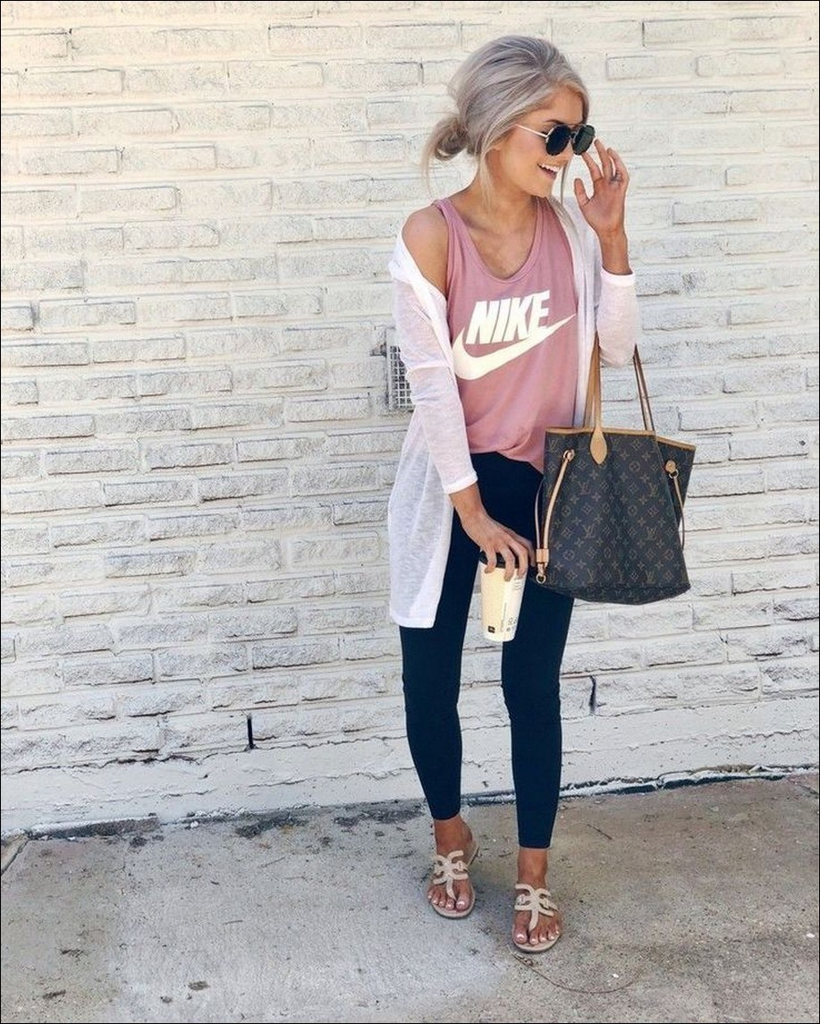 35+ stylish comfy casual spring outfits for women 11