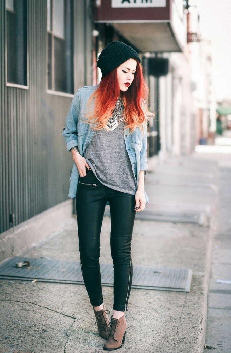 41+ ways to wear chic grunge outfits in spring 33