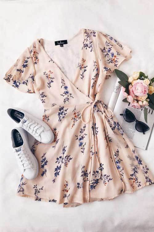 Spring Short Dress Fashion Ideas