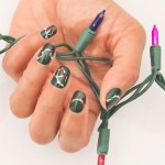 25 Fabulous Christmas Nail Art Design Ideas to Light Up