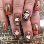 25 Stunning Pumpkins Nail Colors for Thanksgiving