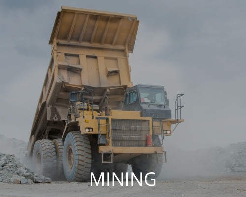 Mobile on-site hose service for mining companies