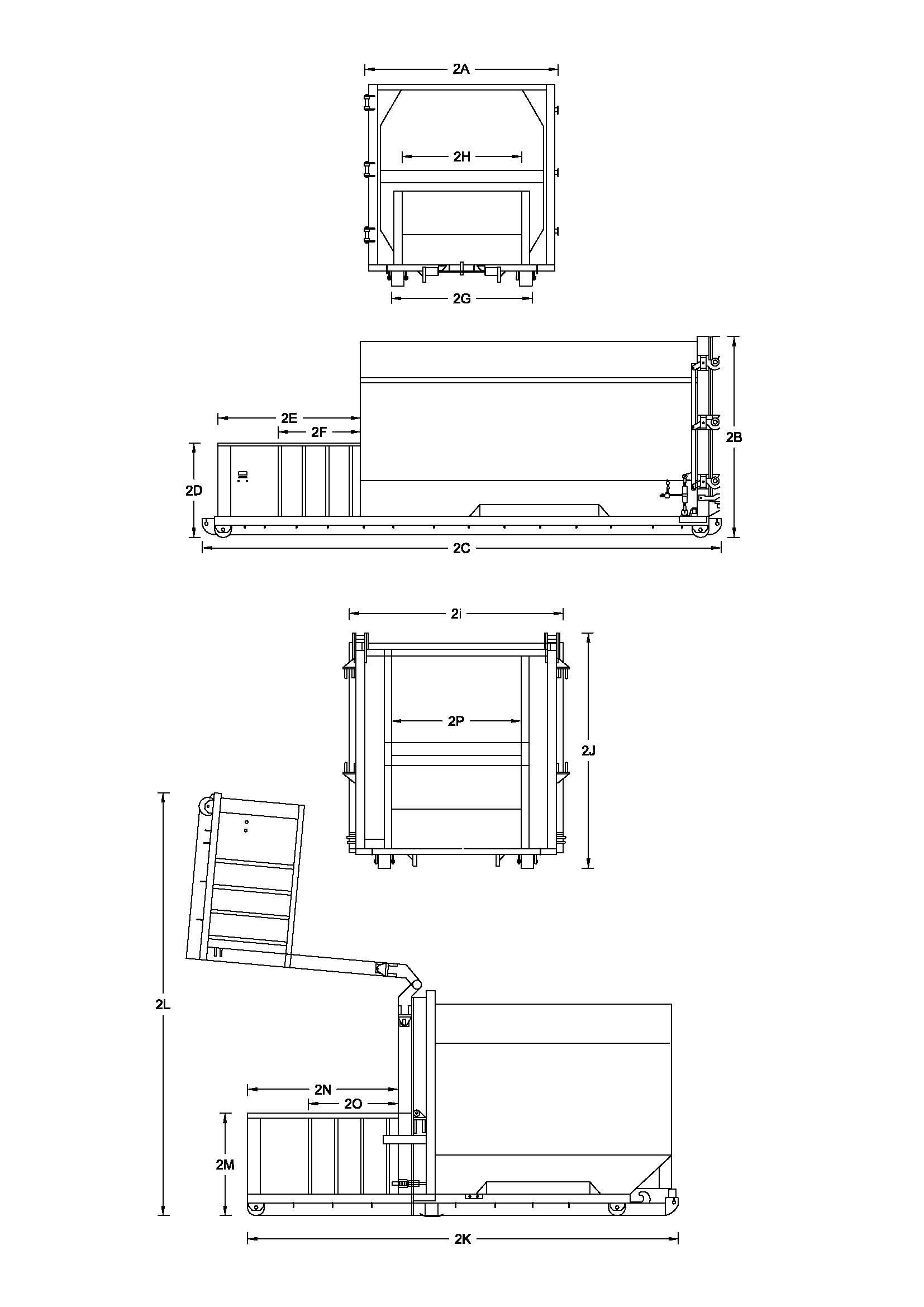 3 phase roller door wiring diagram pioneer deh p3100ub 30 yard self contained compactors