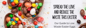 Guide to Low Waste Easter eggs